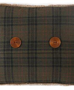Cedar Hills Button Pillow