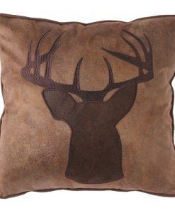 Applique Buck Pillow