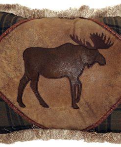 Plaid Moose with Cedar Hills Pillow