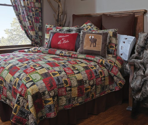 Cabin in the Woods Bedding Collection