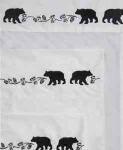 Embroidered Bear Sheet Set *ONLINE ONLY*