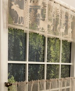 Lodge Hollow Lace Valance