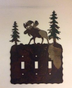 Moose Triple Toggle Switch Plate Cover