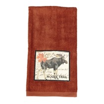 Moose Wilderness Patch Terry Kitchen Towel