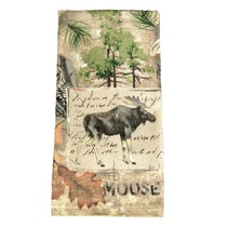 Moose Wilderness Terry Kitchen Towel