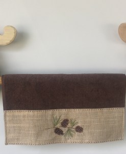 """Deuce Moose"" Wooden Towel Bar"