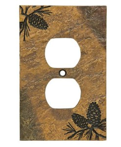 Pine Outlet Cover
