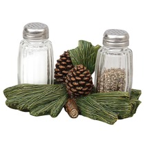 Pine Cone Salt & Pepper Shakers