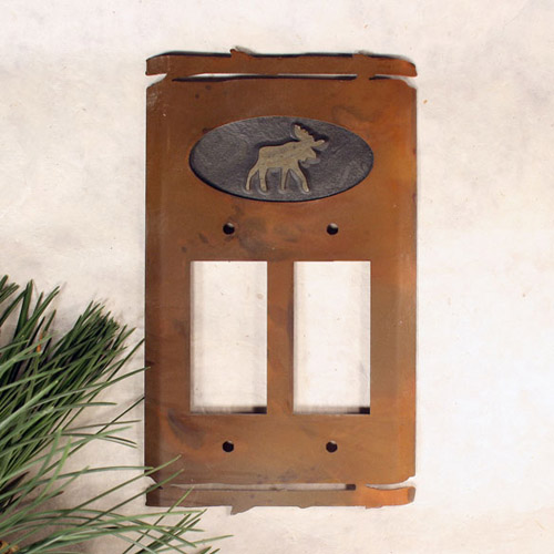Fusion Switch Plate Moose Collection