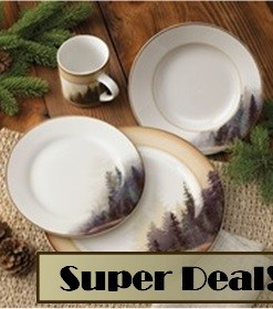 Misty Forest Dinnerware Set - 16pcs