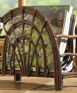 Twig Magazine Rack