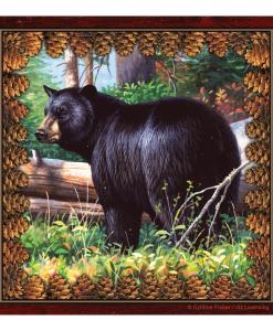 Black Bear Paper Dinner Napkins