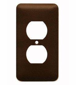 Single Outlet (2) Plate cover