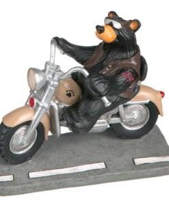 "Big Sky Carvers ""Harley Biker Bear"" Figurine"