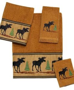Moose Forestry Towel 4 Pc Set