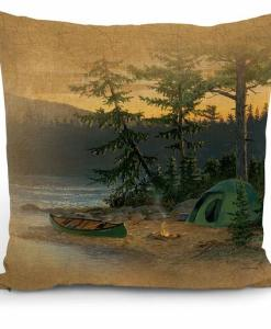 Summer Sunset II Decorative Pillow