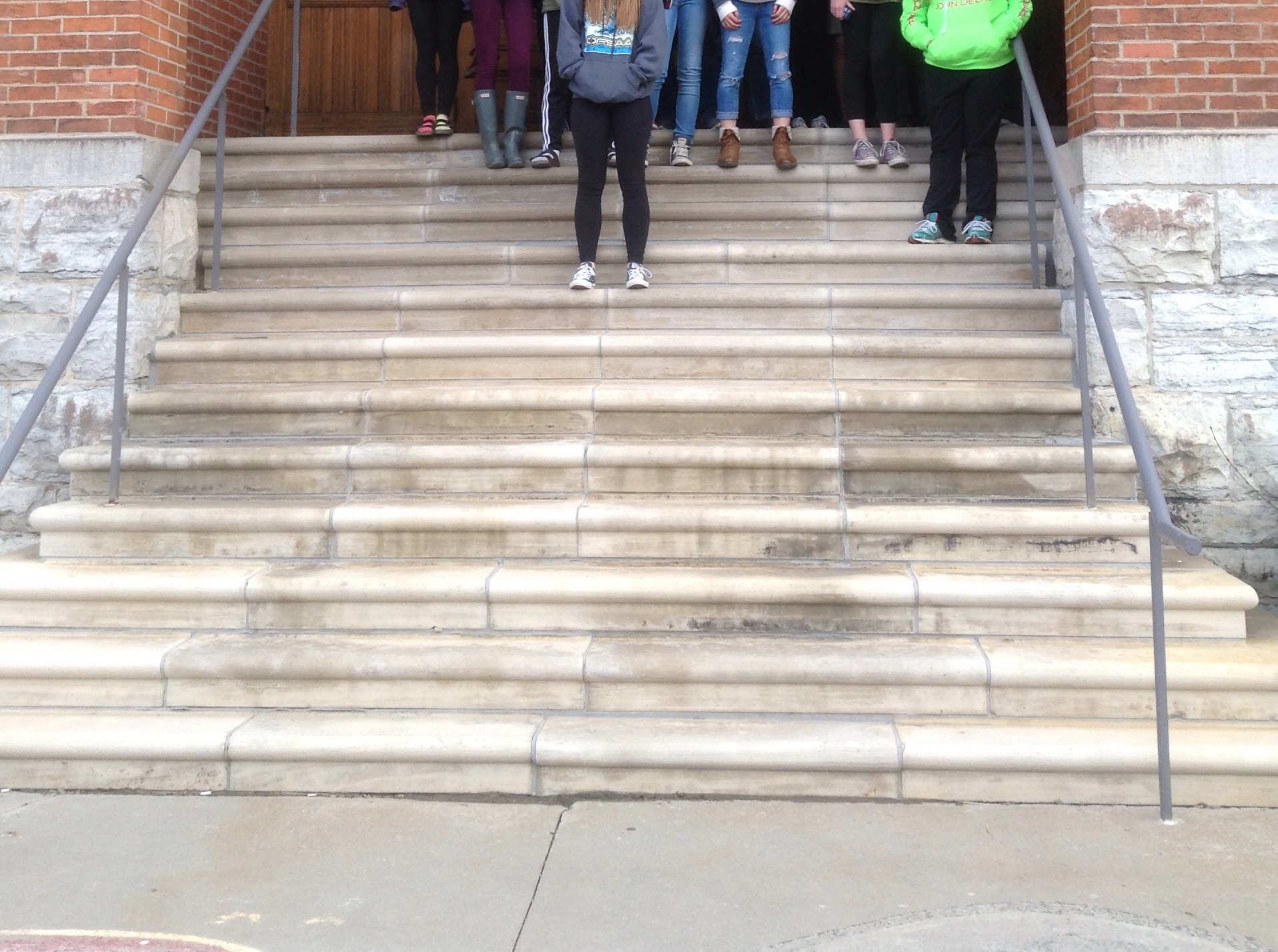 Stairs At Queen S