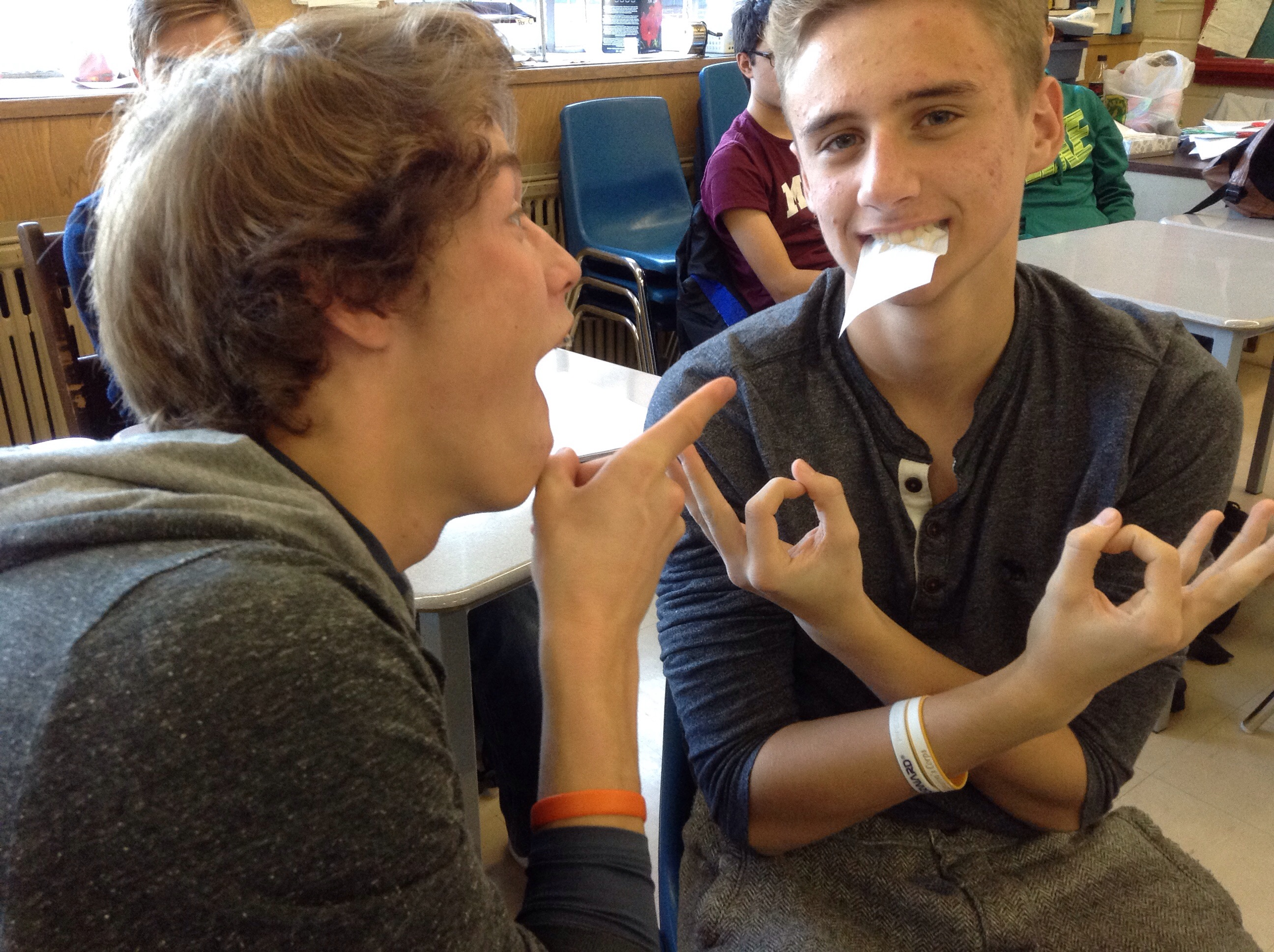 Parabolic Teeth