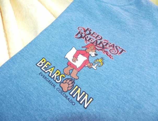 Screen Print Shirt 2 Blue