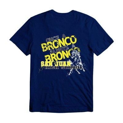 San Juan Bronco Shirts