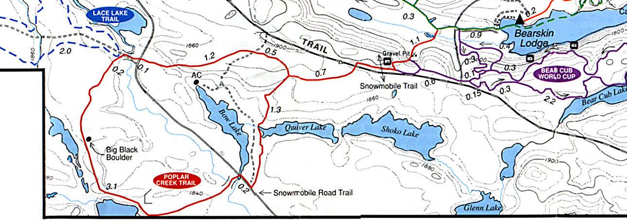 Poplar Creek Ski Trail