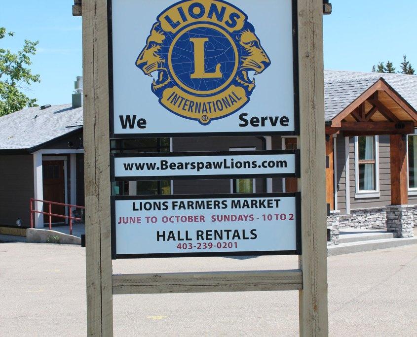 Lions Club of Bearspaw