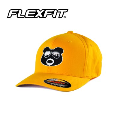BearThug Flexfit Ball Caps - Gold