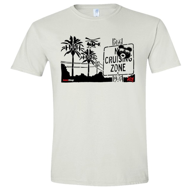 BearThug x Novy Copter T-shirt (White)