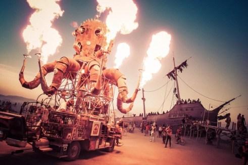 Burning Man Festival - Be artist Be art