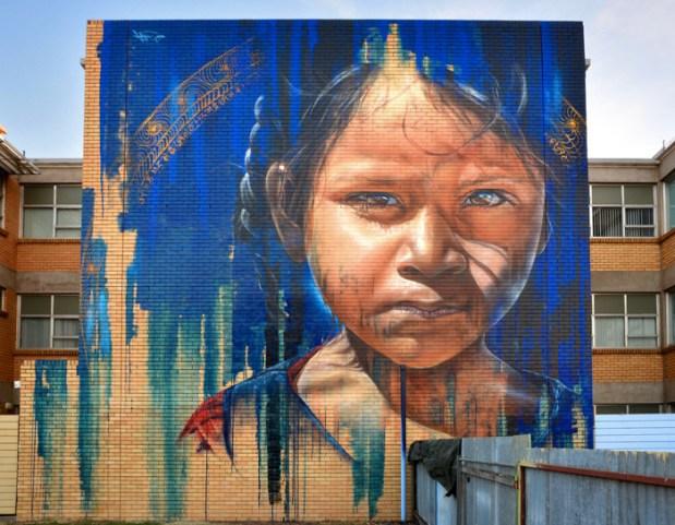 Hyper real Street art - by Adnate - be artist be art - urban magazine