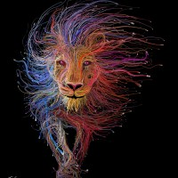 Lion veins - by a Genius, Charis Tsevis