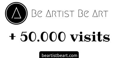 50.000 vistis - Be artist Be art - urban magazine