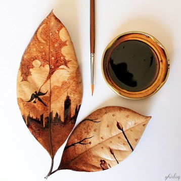 Paints with Coffee (Gallery) - Ghidaq Al Nizar