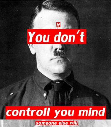 Mind Control - Creative quote - be artist be art