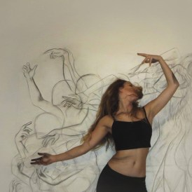 Dance Painting - Zarah Abraham - be artist be art