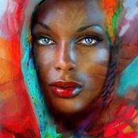Blue Eyes Beauties - by Angela Braun
