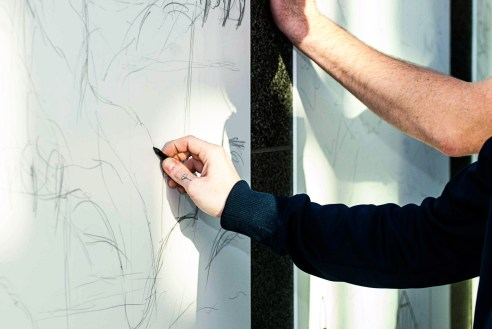 Live #Art and #Illustration TimeLapse + Pics at #StudentInvasion - by Bryce Mennell