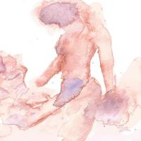 Body Feelings - Watercolor by Demi McCulloch