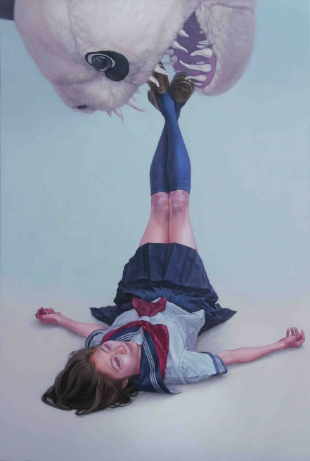 Stolen Childhood, Beauty Nightmares - by Kazuhiro Hori - be artist be art magazine