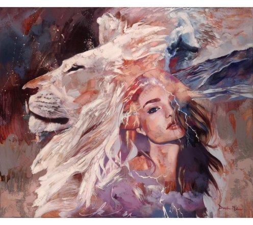 Wild & Beauty Fantasy Dreams - by Dimitra Milan - be artist be art magazine