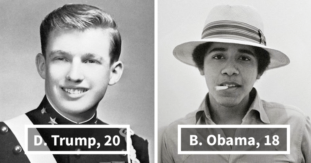 US presidents - When we were young... - be artist be art magazine