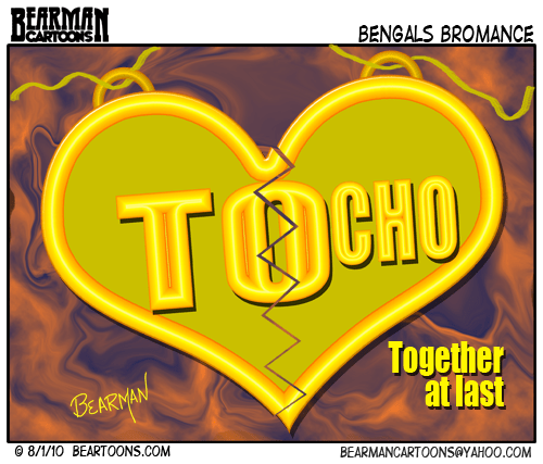 Bengals Bromance T.O. and Chad