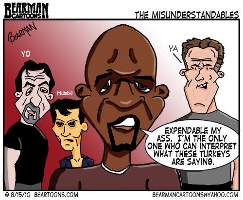 The Expendables Cartoon
