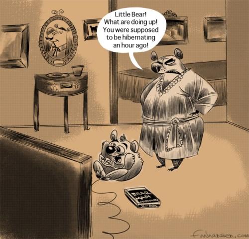 Bearman Guest Cartoon: Frank Hansen