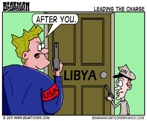 Editorial Cartoon: Libya