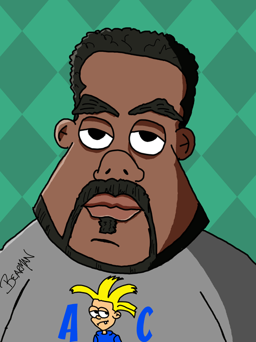 George Ford Caricature from Bearman Cartoons
