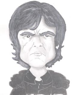 Bearman-Cartoons-Tyrion-Lannister Grayscale