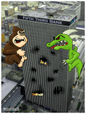 Rampage Cincinnati by Bearman Cartoons