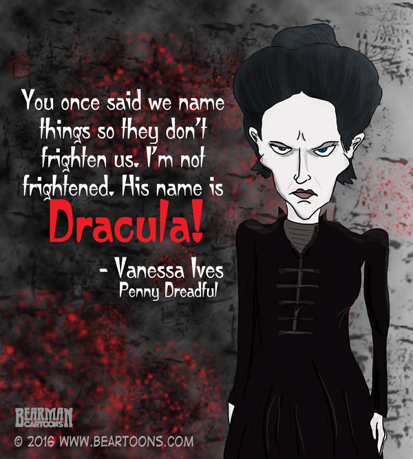 Vanessa Ives Penny Dreadful Cartoon