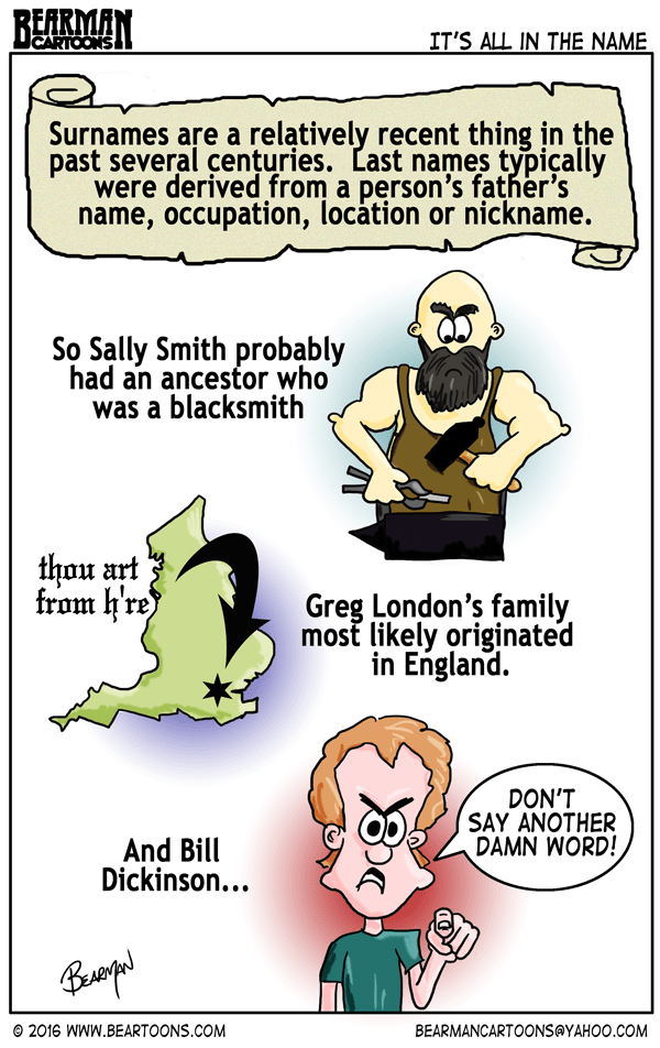 where did names originate from
